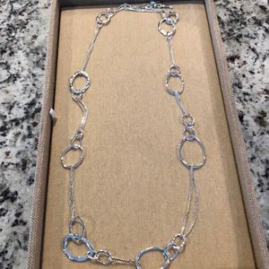 Chloe and Isabel Long Organic Link Necklace